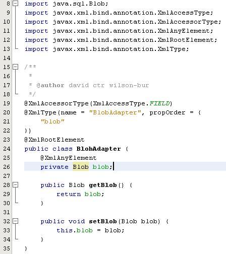 Failed Blob Adapter Code (fig.1.4)